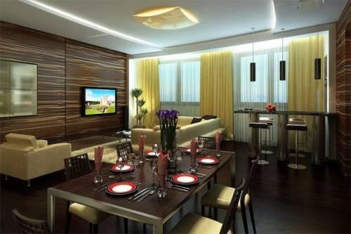 Кухня гостиная дизайн кухня гостиная
