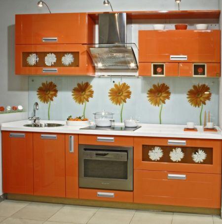 Оформление дизайна интерьера кухни не