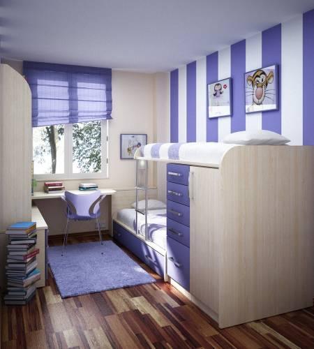 Дизайн детской комнаты обои дизайн